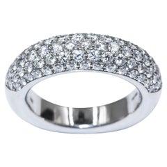 Chopard White Gold Diamonds Ring