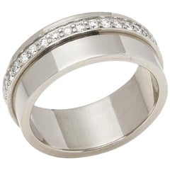 Piaget 18 Karat White Gold Diamond Possession Ring