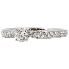 Tiffany & Co. Diamond and Platinum Engagement Ring