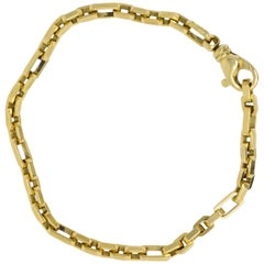 Tiffany & Co. Contemporary 18 Karat Gold Unisex Bracelet Original Box