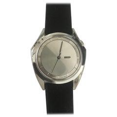 Zodiac Olympos Stainless Steel Asymmetric Watch
