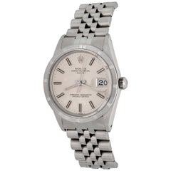 Rolex Stainless Steel Date Oyster Perpetual Automatic Wristwatch Ref 15010