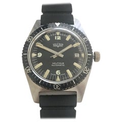 Vulcain Nautique Stainless Steel Watch, circa 1960s