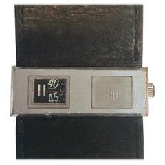 Lip Baschmakoff Automatic Jump-Hour Watch, circa 1970s