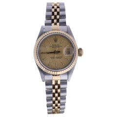 Certified 1991 Rolex Datejust 69173 Champagne Dial