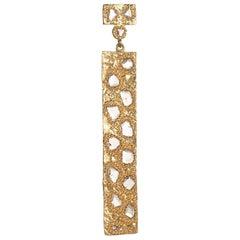 Coomi 20 Karat Gold Luminosity Diamond Pendant