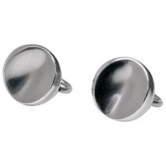 Georg Jensen Sterling Earrings Designed by Nanna Ditzel