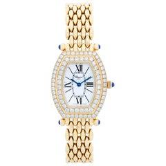 Chopard 18 Karat Yellow Gold Diamond Ladies Watch 551 1