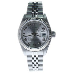 Certified Rolex Datejust 79174 Silver Dial