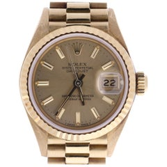 Rolex Datejust 69178 Champagne Dial Serial Number 756