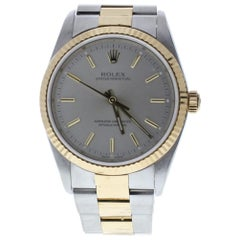 Certified Rolex Oyster Perpetual 14233 with Band and Silver Dial