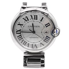 Cartier Stainless Steel Ballon Bleu Automatic Wristwatch Reference W69012Z4