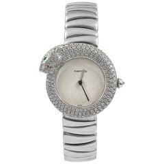 Cartier Diamond Panthere Ladies Watch