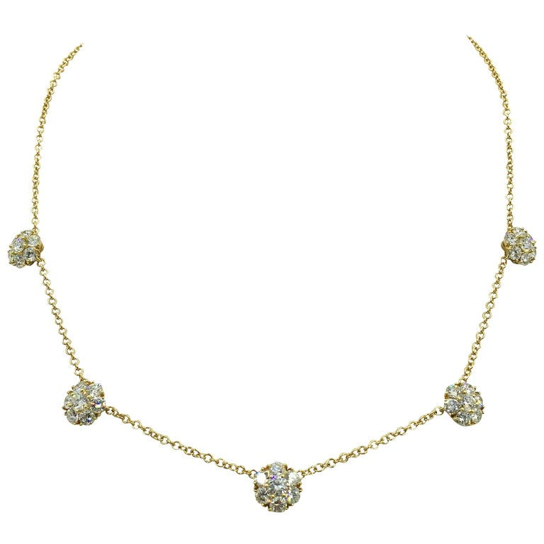 Van Cleef & Arpels Diamond Fleurette Necklace