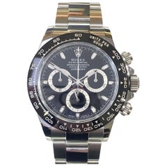 Rolex Men's Cosmograph Daytona Black Dial Chronograph Stainless Steel