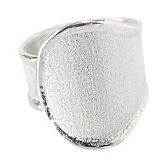Yianni Creations Fine Silver and Palladium Artisan Handmade Ring