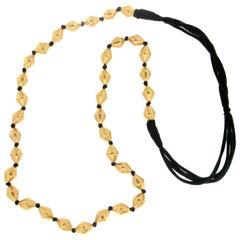 22 karat Yellow Gold Rope Necklace