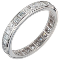 Peter Suchy 2.00 Carat Diamond Platinum Eternity Band Ring