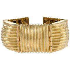 European 1970s Gold Bracelet
