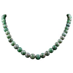 Jade Beaded Necklaces