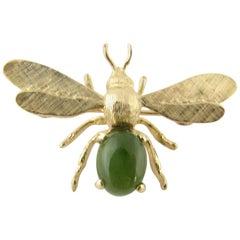 14 Karat Yellow Gold Dragonfly Brooch/Pin