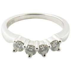 14 Karat White Gold Diamond Wedding/Anniversary Ring