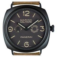 Panerai Radiomir Marina Militare Composite Brown Dial PAM00339 Manual Wind Watch
