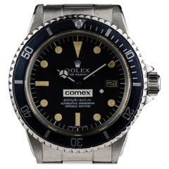 Rolex Comex Sea-Dweller Gents Stainless Steel Black Dial 1665 Automatic Watch