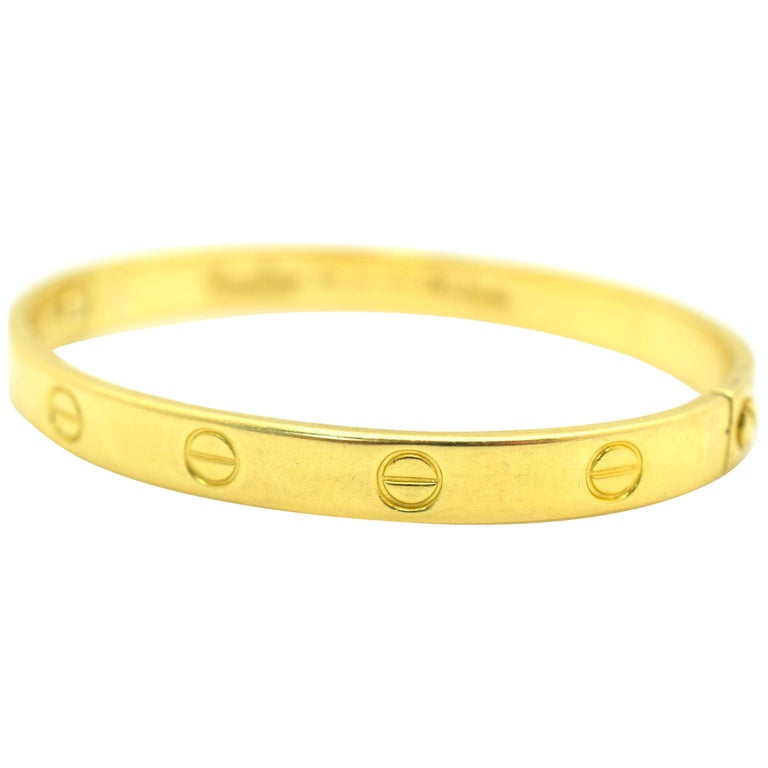 Cartier Love Bracelet Aldo Cipullo Vintage For
