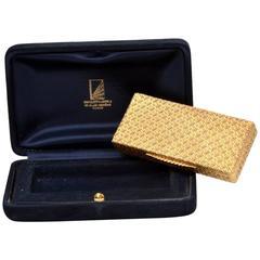 Van Cleef & Arpels Textured Gold Box