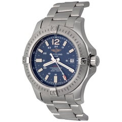 Breitling Colt Stainless Steel Automatic Men's Wristwatch in Stock