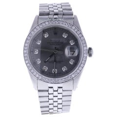 Certified 1979 Rolex Datejust 16014 Grey Dial