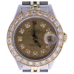 Certified 1983 Rolex Datejust 6917 Gold Dial