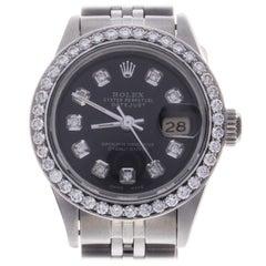 Certified Lady Datejust Stainless Steel Jubilee Bracelet Automatic Ladies Watch