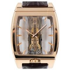 Corum Golden Bridge Automatic 31316555 w. Skeleton Dial - 18k RG Men's Watch
