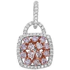 1.61 Carat Natural Pink Diamond Pendant