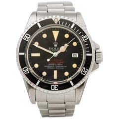 Rolex Sea-Dweller Double Red MK1V Stainless Steel 1665