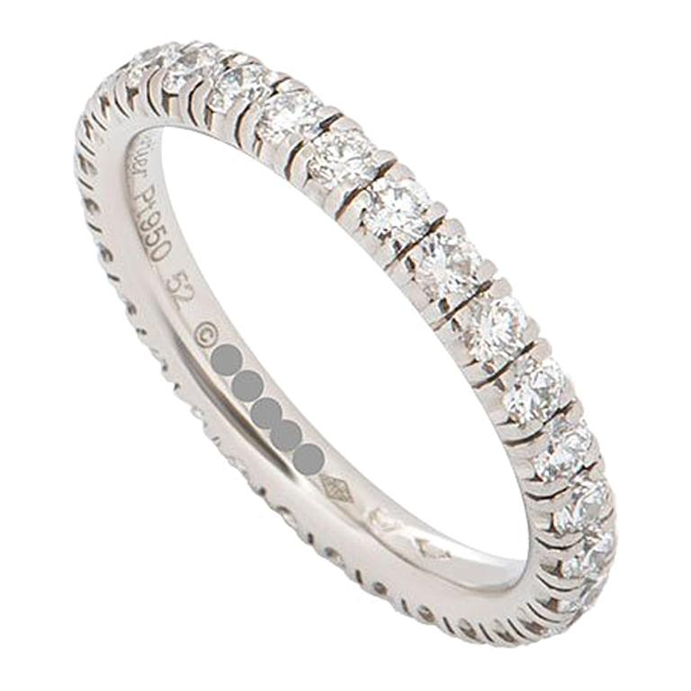 Cartier Platinum Diamond Étincelle De Cartier Ring