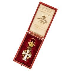 Danish Gold and Enamel Order of the Dannebrog