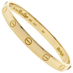 Cartier Aldo Cipullo Circa 1970 Love Bracelet