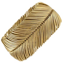 Gold Illusion Bracelet by Tiffany & Co.