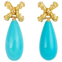 Tiffany & Co. Turquoise Drop Earrings