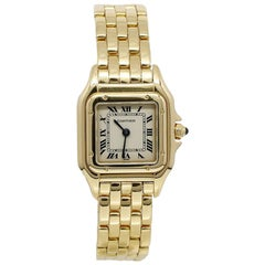 Cartier Panthere Small Yellow Gold Watch Model W215022B9