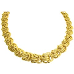 18 Karat Yellow Gold Chain Necklace