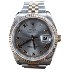 Rolex Datejust, Bi-Metal, Model Number 116231, Registered 2009