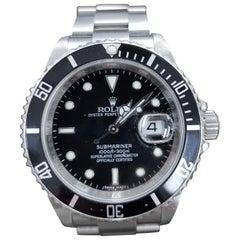 Rolex Submariner, Stainless Steel, Model Number 16610, Registered 2004