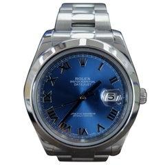 Rolex Datejust 2, Stainless Steel, Model Number 116300, Registered 2015
