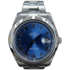 Rolex Datejust 2, Stainless Steel, Model Number 116300, Registered 2014