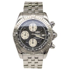 Certified 2009 Breitling Windrider A13356 Grey Dial