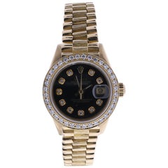 Certified 1984 Rolex Datejust 69278 Black Dial